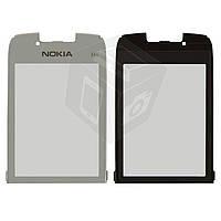Защитное стекло корпуса для Nokia E66, оригинал (серебристое)