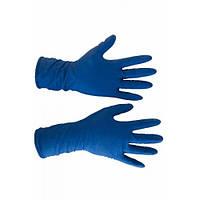 Медицинские перчатки синие L (25пар)