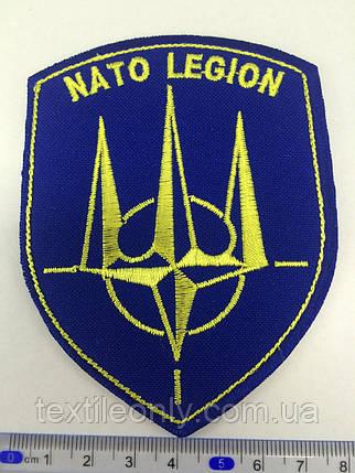 Нашивка Легион Нато герб, фото 2