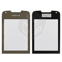 Защитное стекло корпуса для Nokia 8800 Arte, золотистое, оригинал