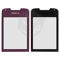 Защитное стекло корпуса для Nokia 8800 Arte, оригинал (фиолетовое)
