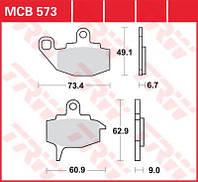 Тормозные колодки для Kawasaki TRW / Lucas MCB573