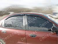 Ветровики DAEWOO Lanos 2d передні (на скотчі), фото 1