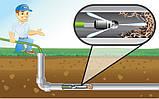 Шланг для прочищення канализационых труб 15 М для мінімийки NILFISK , STIHL, фото 3