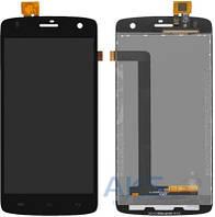 Дисплей (экран) для телефона Fly IQ4503 Era Life 6 + Touchscreen Original Black