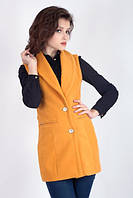 Женская кашемировая жилетка, фото 1