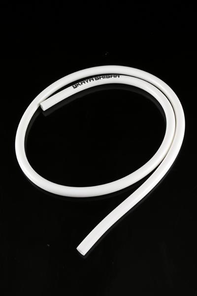 Силиконовый шланг Silicone Hose с Kaya-logo, белый