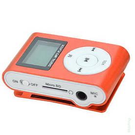 MP3 плеер копия iPod Shuffle, SLIM с LCD экраном, наушниками и микрофоном Красный