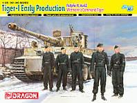 Tiger-1 Early Production Pz.Kpfw VI, Ausf E     1/35     DRAGON
