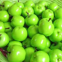 Яблоко зеленое декоративный фрукт