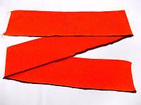 Резинка манжетная одинарная 8 см (ярко - оранжевый) (арт. 20180)