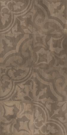 Кендал коричневый орнамент