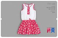 Летнее платье для девочки. ПЛ145