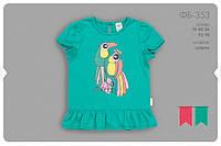Летняя футболка для девочки. ФБ353
