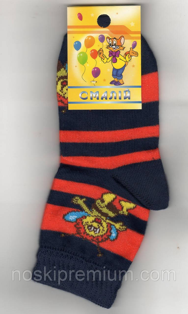 Детские носки демисезонные х/б Смалий, 27-29, 18 размер