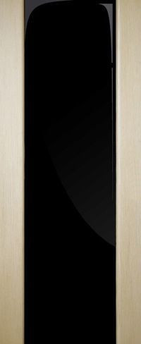 Двери шпонированные Премьера ПО (триплекс черный) Alpi Fine Line
