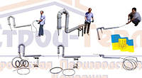 Трос для чистки канализации 8,10,12,14,16,18 мм.