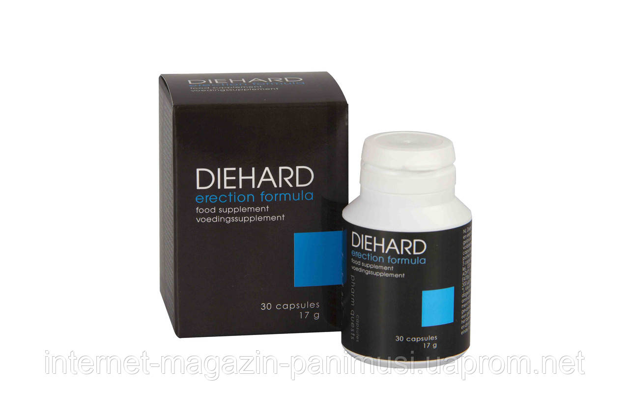 Купить таблетки для увеличения потенции Diehard 30 шт