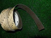 Самоклеющаяся лента на ступени 25 мм коричневая - 8 метров