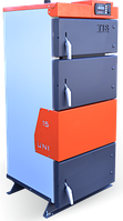 Универсальный твердотопливный котел длительного горения Белкомин TIS UNI 55