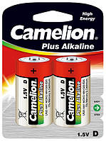 Батарейка Camelion Plus Alkaline LR20 1х2