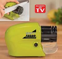 Универсальная электрическая точилка для ножей Swifty Sharp , фото 1