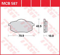 Yamaha XV Virago комплект тормозных колодок TRW / Lucas MCB587