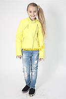 Куртка весна-осень для девочек, размеры 122-128-134-140-146-152 см