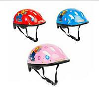 Шлем детский ( красный, розовый , голубой )
