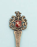 Антикварная коллекционная ложка, серебро, 800  Германия, фото 4