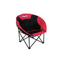Раскладное кресло KingCamp Moon Leisure Chair KC3816 Черно-красный