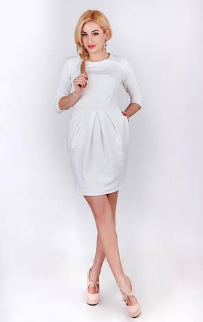 Платье футляр белое, фото 2