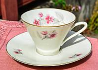 Очаровательная чашка с блюдцем! Johann Seltmann!