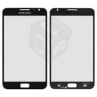 Защитное стекло корпуса для Samsung Galaxy Note i9220 N7000, черное, оригинал