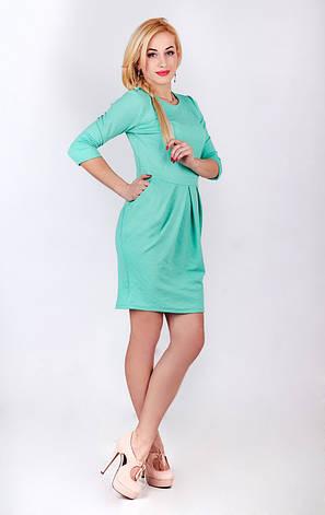 Платье футляр бирюза, фото 2