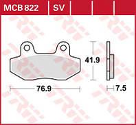 Мото тормозные колодки TRW / Lucas MCB822