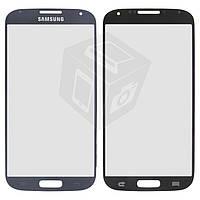 Защитное стекло корпуса для Samsung Galaxy S4 i9500 / i9505, синее, оригинал
