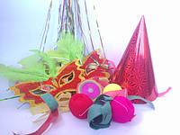 Карнавальні носики, вушка, дудки (язички)