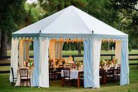 Как построить свадебный шатер