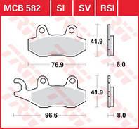 Тормозные колодки для мотоциклов и квадроциклов TRW / Lucas MCB582
