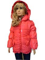 Яркая куртка для девочек, примерно 2-5 лет, фото 1