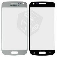 Защитное стекло корпуса для Samsung Galaxy S4 mini i9190 / i9192 / i9195, белое, оригинал