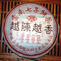 Чай Шу Пуэр Юэ Чэнь Юэ Сян 2006 Год, От 10 Грамм, фото 1