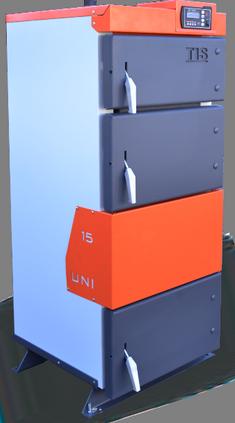 Универсальный котел длительного горения на твердом топливе Белкомин TIS UNI 25