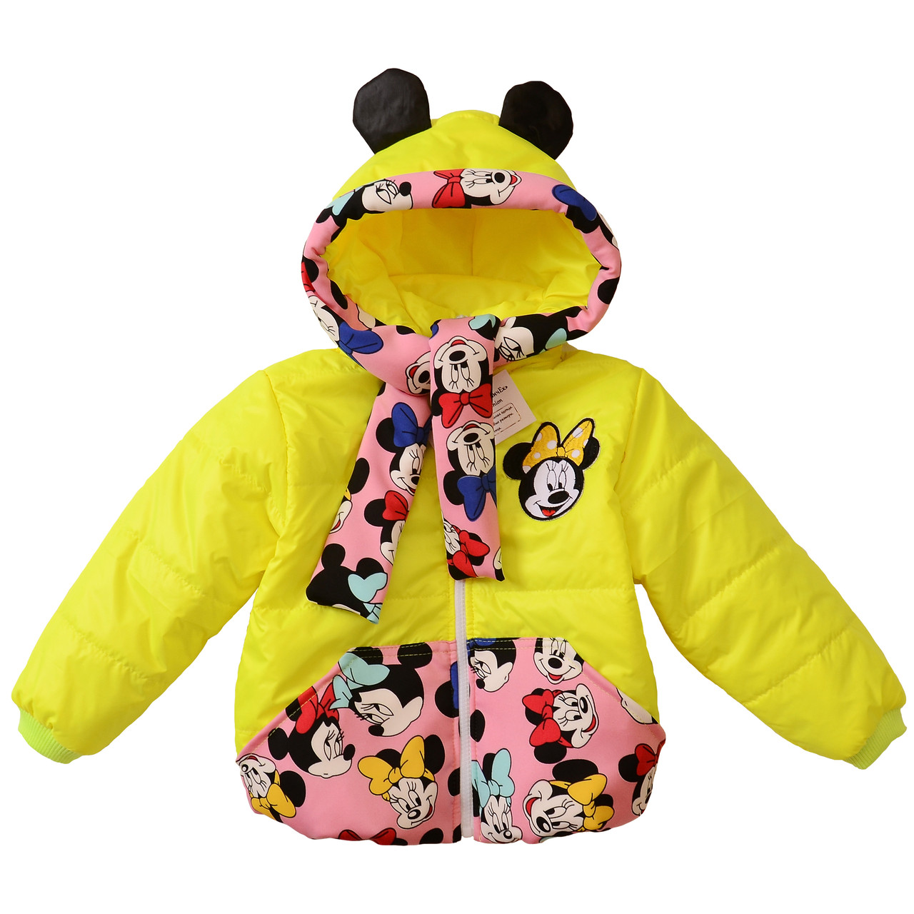 Детская куртка для девочки весенняя