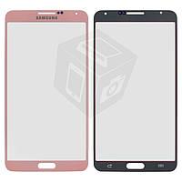 Защитное стекло корпуса для Samsung Note 3 N900 / N9000 / N9005 / N9006, розовое, оригинал