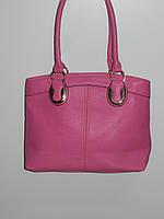 Нежная сумка искусственная кожа розовая мягкая Bolina