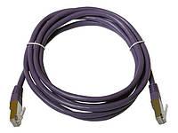 Патчкорд FTP Cat5E 2.0 м, фиолетовый