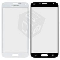 Защитное стекло корпуса для Samsung Galaxy S5 G900, белое, оригинал