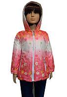 Яркая куртка для девочек, примерно на 1-5 лет